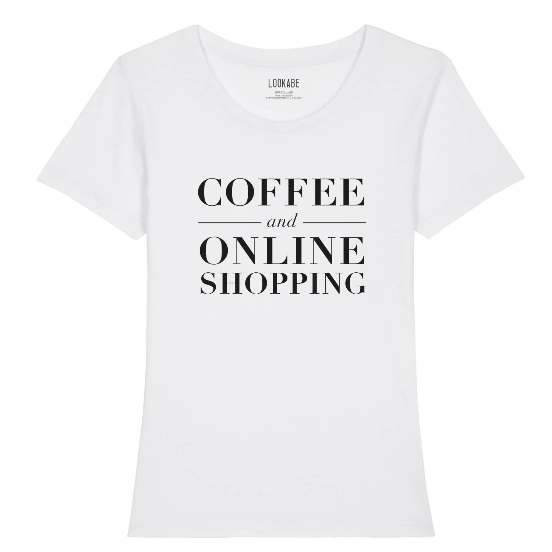 T-Shirt - Coffee & Online Shopping
