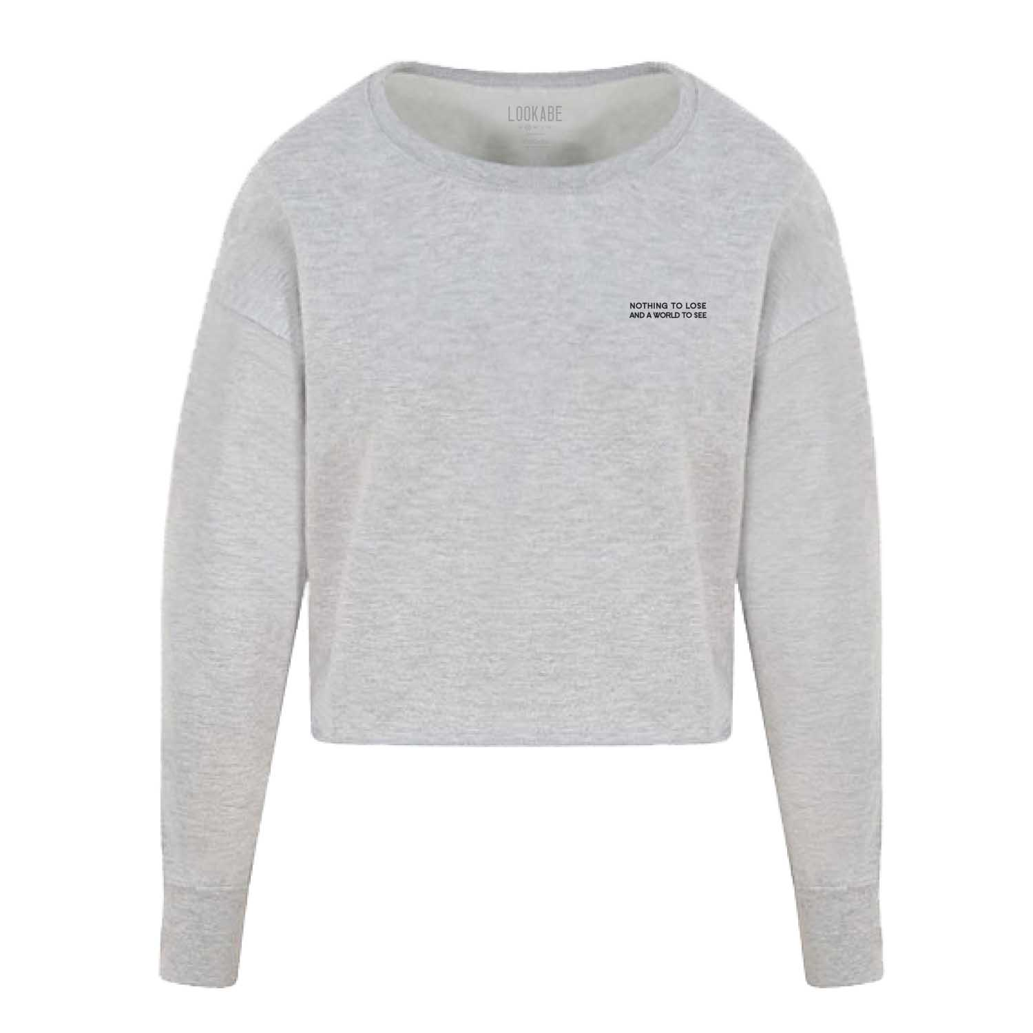 Crop Sweater - Nothing to lose