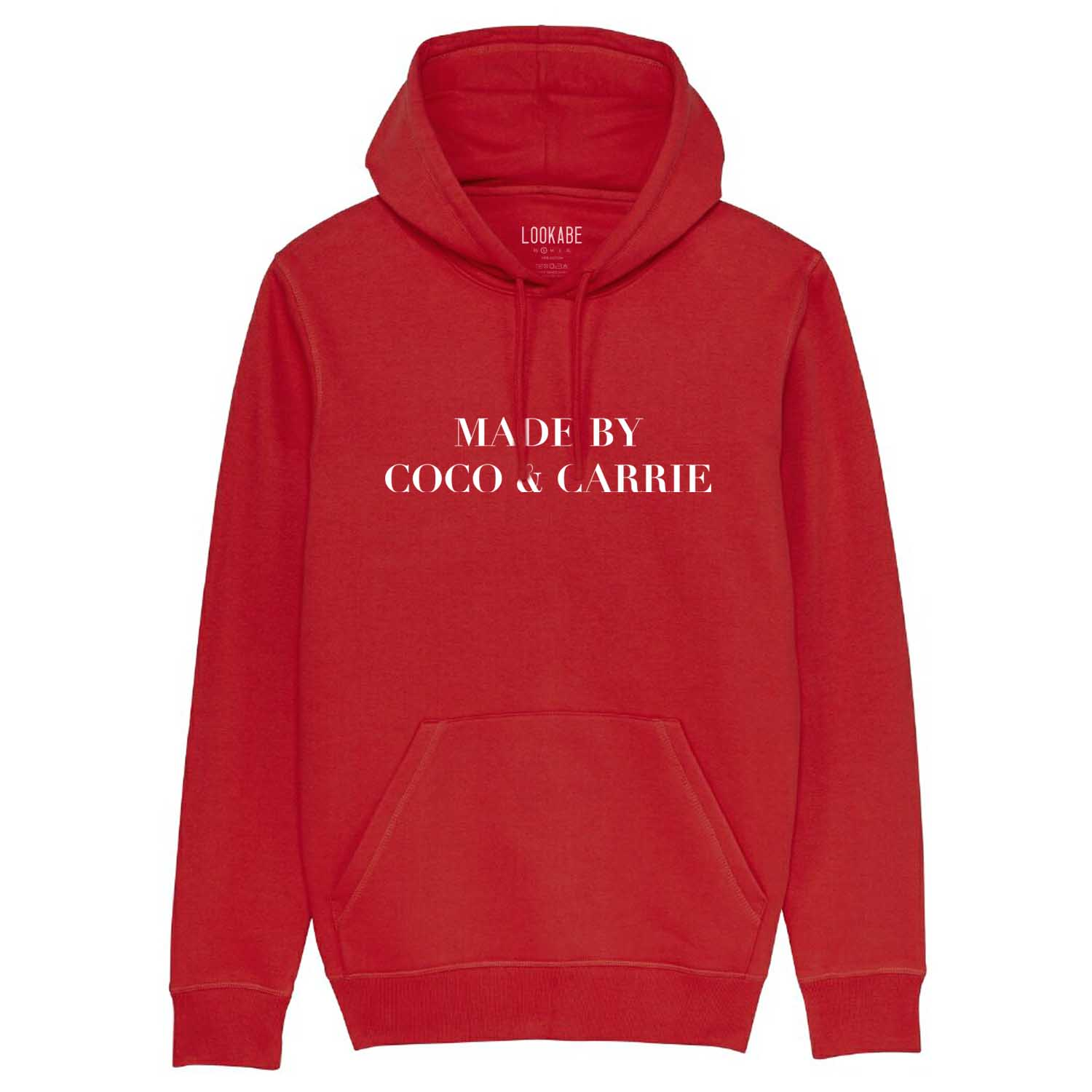 Hoodie - Made by Coco & Carrie