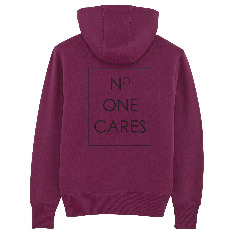 Hoodie - No one cares