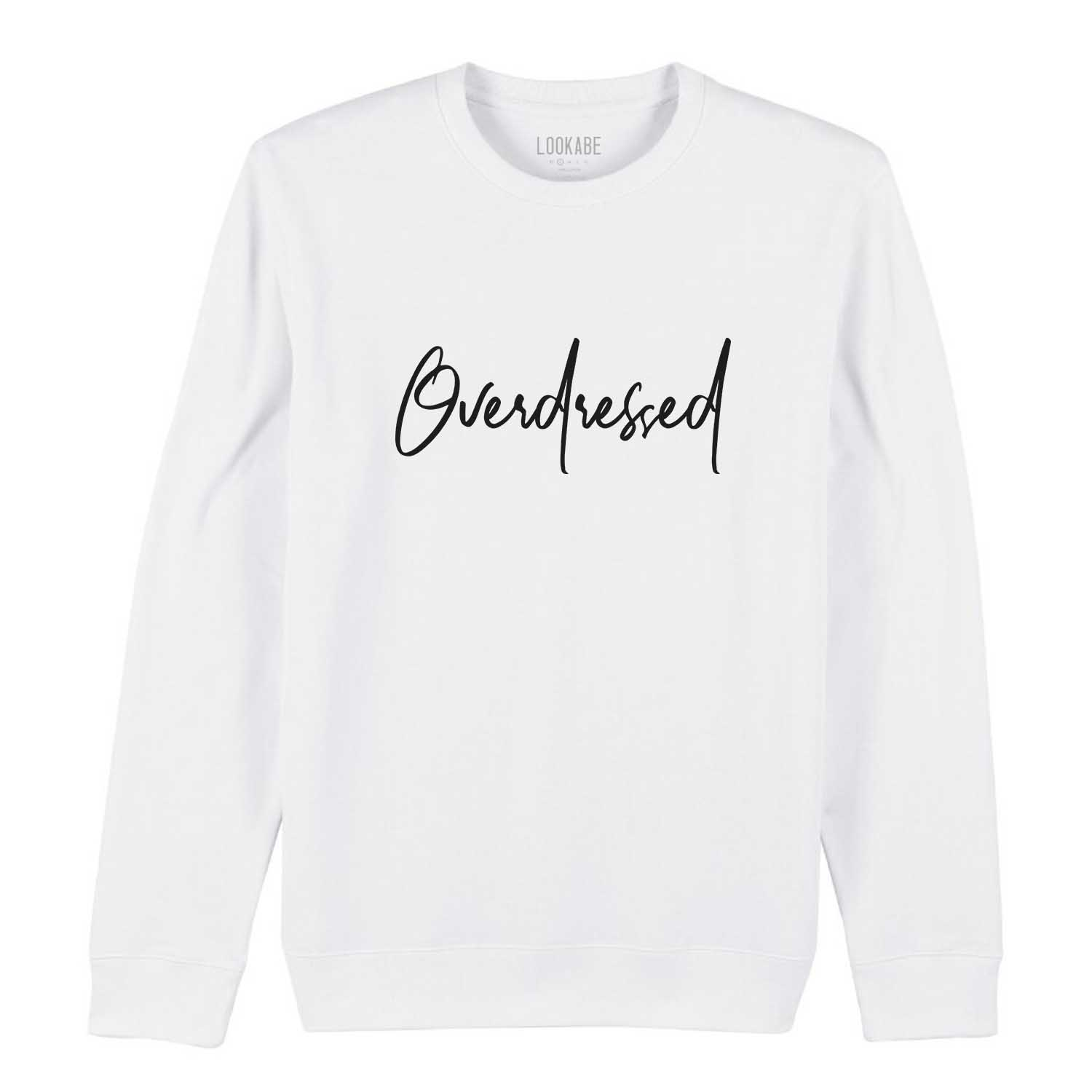 Sweatshirt - Overdressed