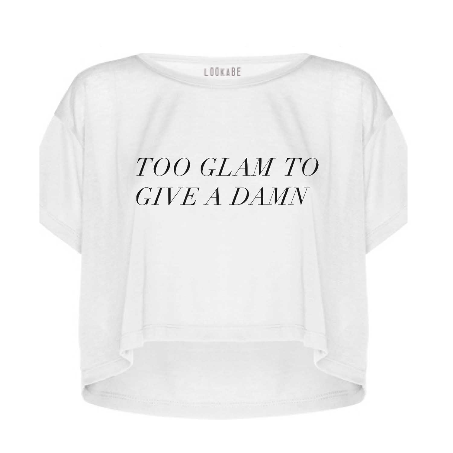 Super Thin Crop Top - Too glam
